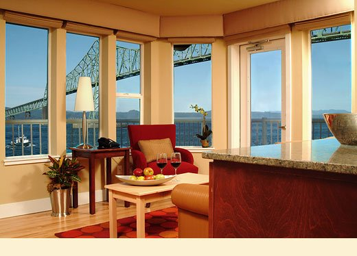Cannery Pier Hotel one bedroom suite