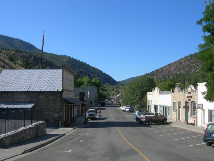 7) Canyon City
