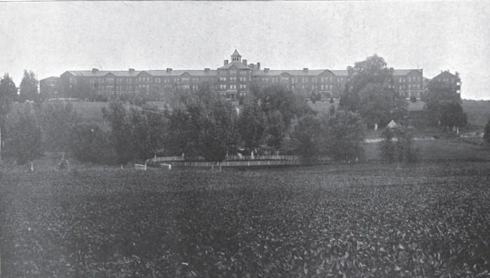 2. Central Lunatic Asylum (Central State Mental Hospital), Petersburg