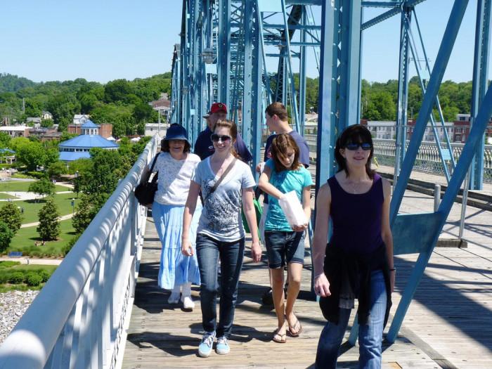 4) Chattanooga Riverwalk - Chattanooga