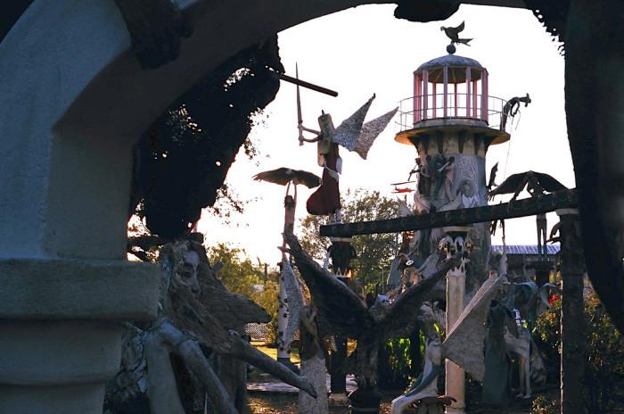 10) Chauvin Sculpture Garden, Chauvin, LA