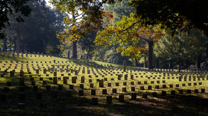 16) The cemeteries in Tennessee are not only historic, but stunning and serene