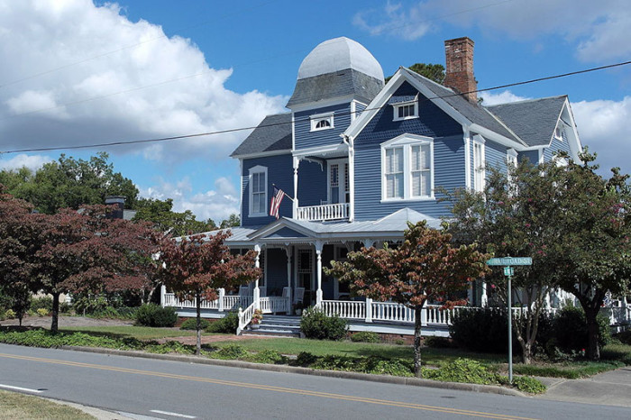 1. You get a tower and a wraparound porch at the Colonel A.C Davis House in LaGrange.