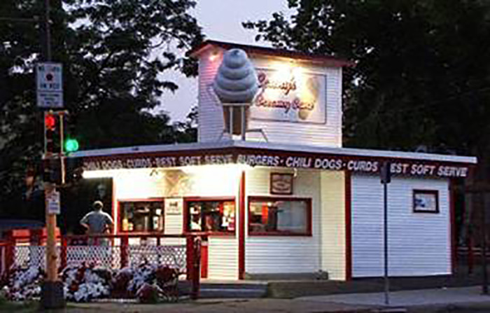 """15. Conny's Creamy Cone by Como Lake is as they say """"The Sweetest Place in the Neighborhood""""."""