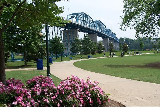 9) Coolidge Park - Chattanooga