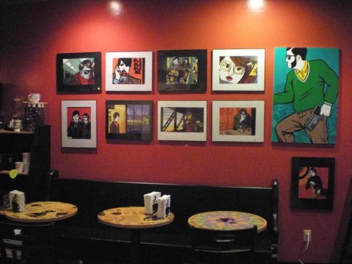 6. The Cosmic Cup Coffee Co., Easton