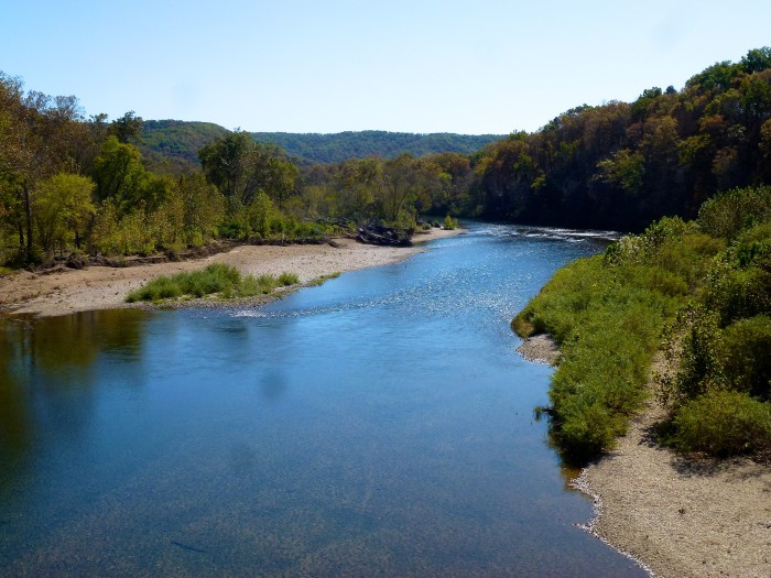 15. Current River: Let your feet, eyes or canoe wander for miles.
