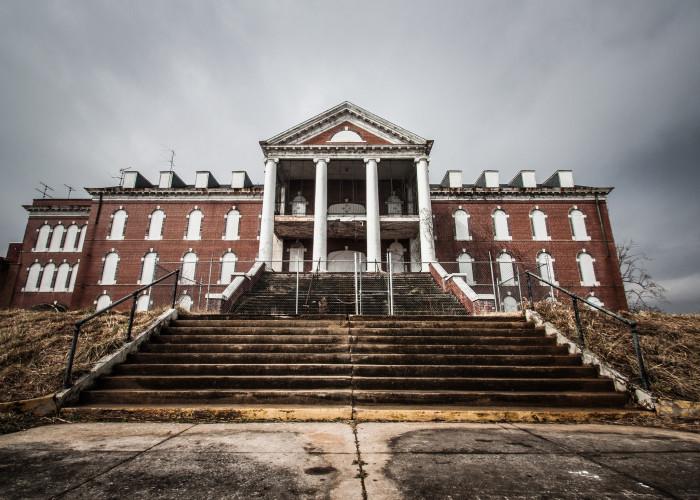 Old Reid Memorial Hospital Today