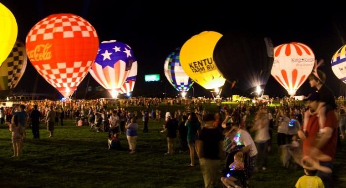 6. Kentucky Derby Festival Balloon Glow