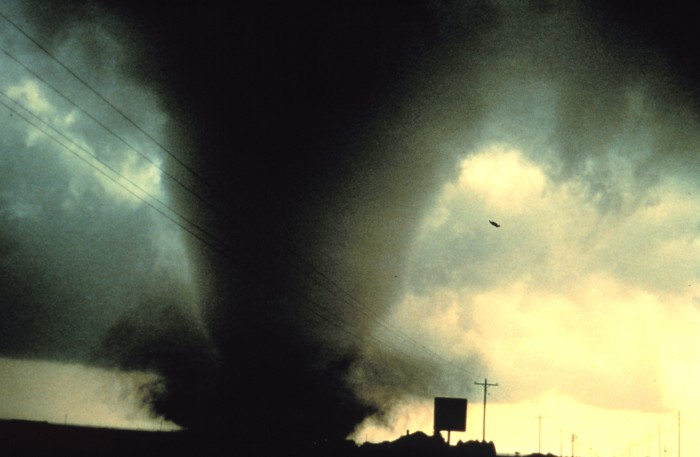 3) Tornadoes..we have more per year than any other state, so we know to take cover when the weather turns violent.