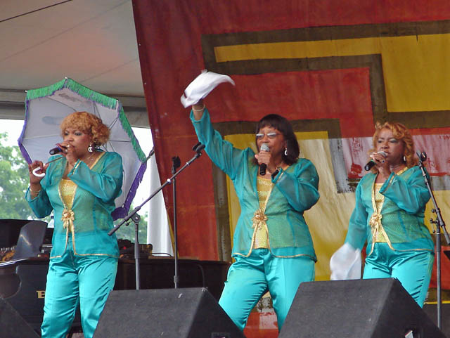 1) Iko Iko, performed by The Dixie Cups