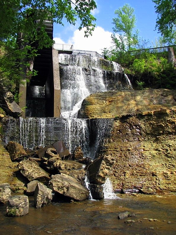 2. Dunns Falls in Lauderdale County