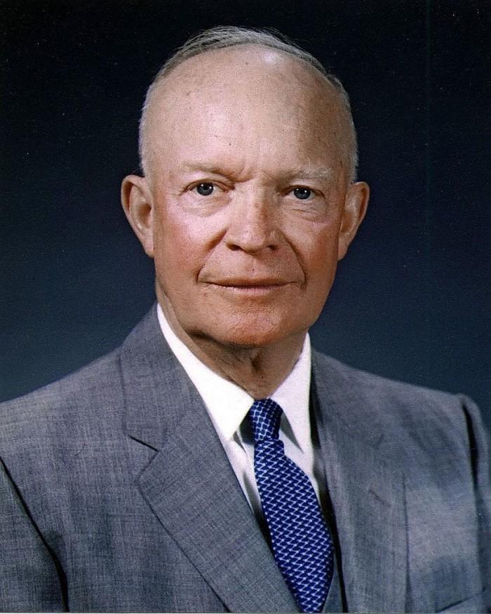 11.) Dwight D. Eisenhower