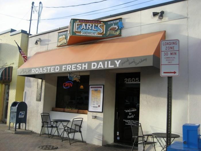 1. Earl's Sandwiches, Arlington (Ballston and Clarendon)