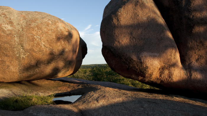 6. Elephant Rock State Park: Bouldering anyone? This Missouri trail also includes and interpretative Braille trail.