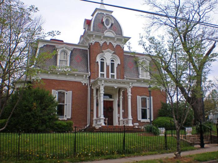 6. Evans House, Salem