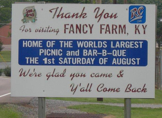 12. Fancy Farm Family Picnic