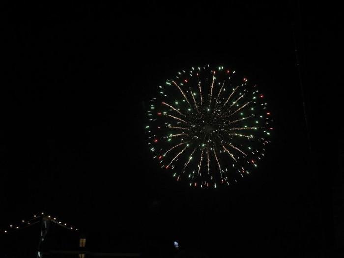 11. Wildcat Fireworks