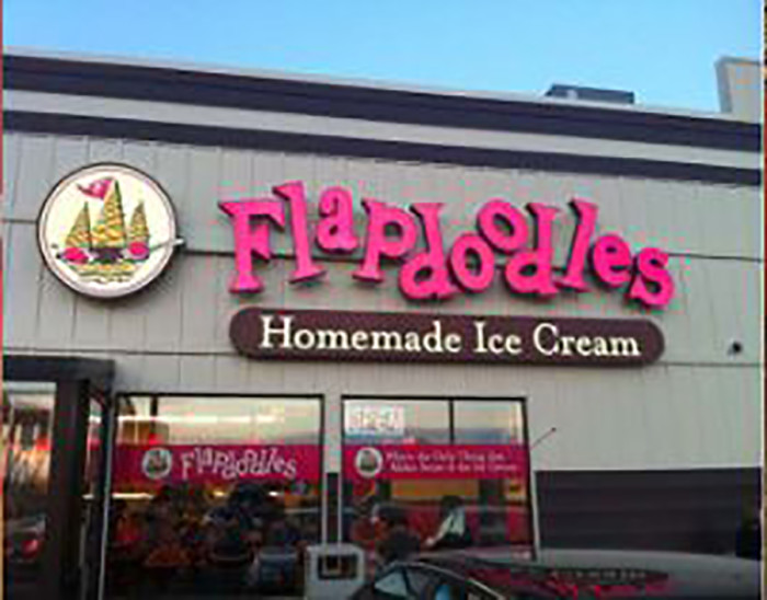 16. Flapdoodles is serving up fantastic homemade ice cream in Rochester.