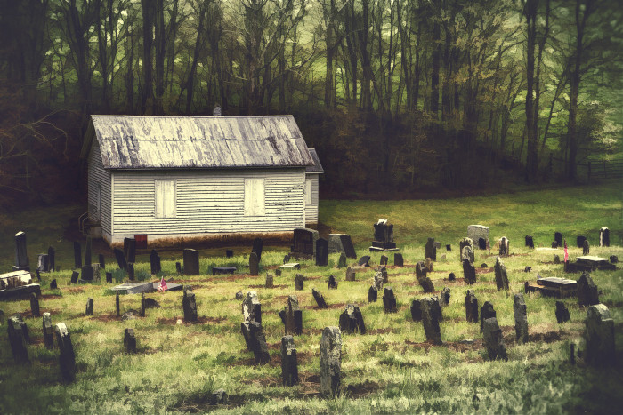 1. Pine Creek Church Cemetery, Floyd