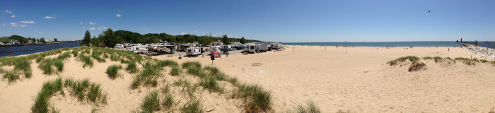 10) Grand Haven State Park