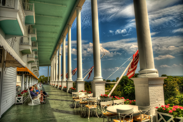9) Grand Hotel, Mackinac Island