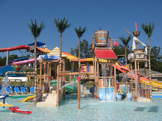 3. Grand Paradise Water Park in Collins, MS