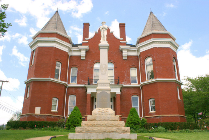11. Old Grayson County Courthouse, Independence