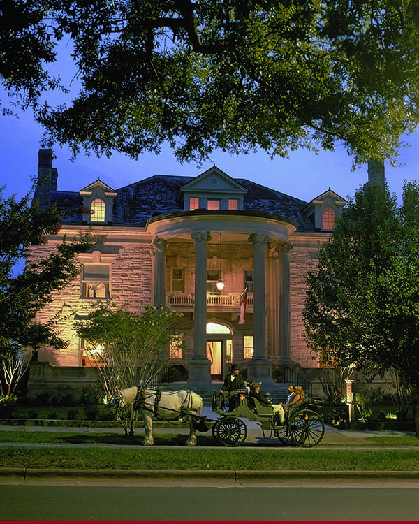 12. Hopefully the horse and carriage comes included with the gorgeous Graystone Inn in Wilmington.