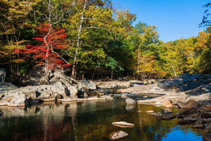 11. Explore Great Falls Park in McLean
