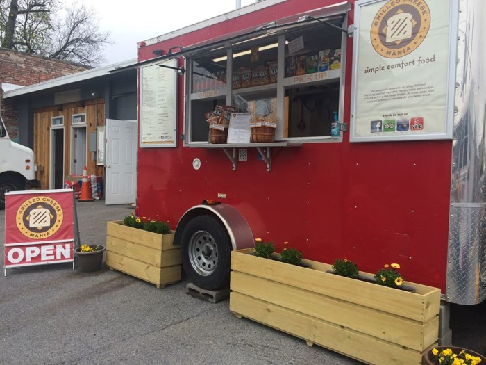 5.Grilled Cheese Mania, Harrisonburg (Wolfe St. and South High St.)