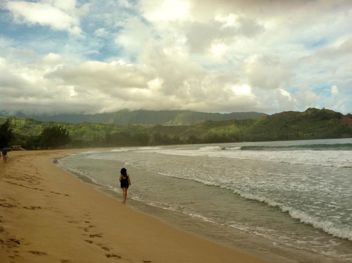 11) Hanalei Beach, Kauai
