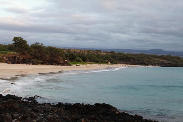 8) Hapuna Beach, Big Island