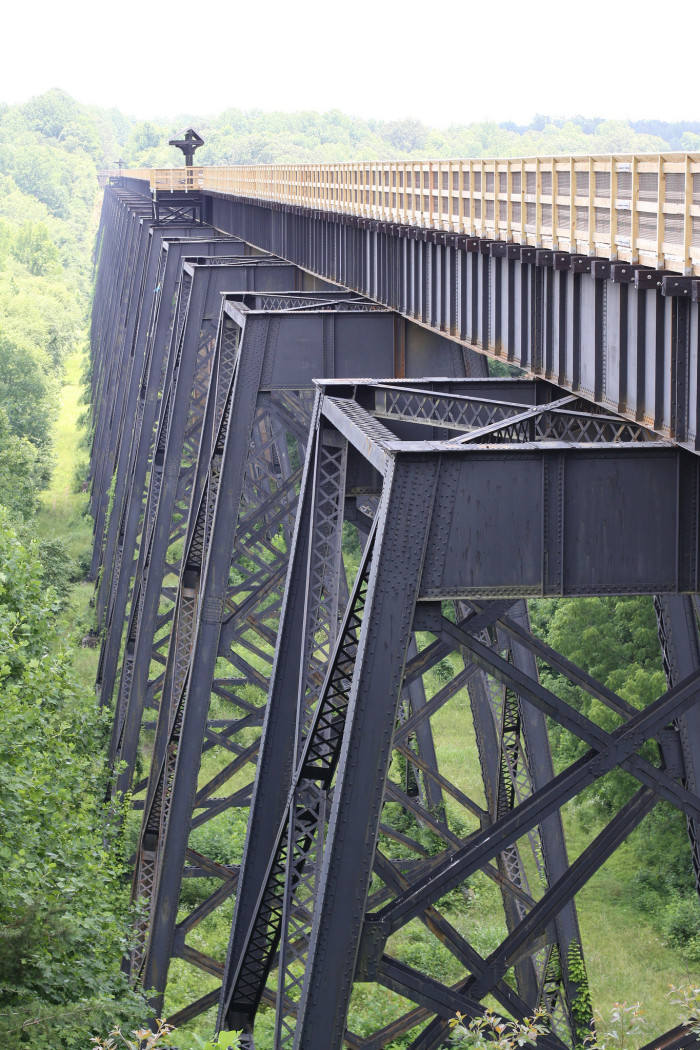 "5. The ""High"" Bridge at High Bridge State Park, Farmville"