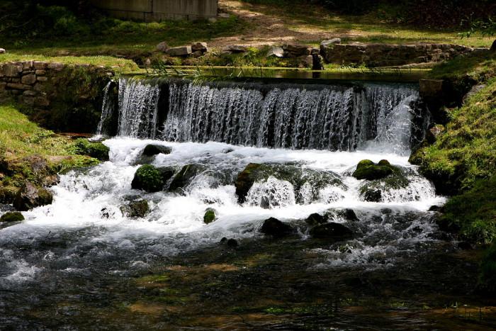 1. Hodgson Mill Waterfall