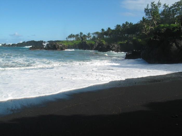 2) Honokalani Beach, Maui