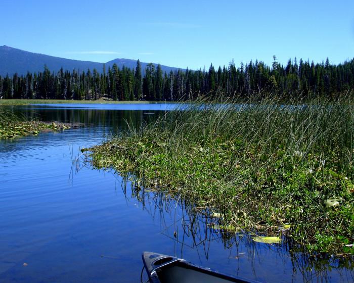 7) Cascade Lakes