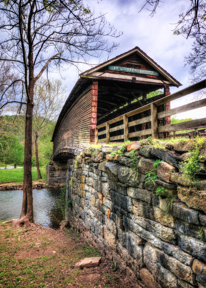 9. Humpback Bridge in Covington
