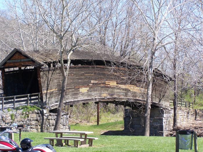 1. Humpback Covered Bridge, Covington