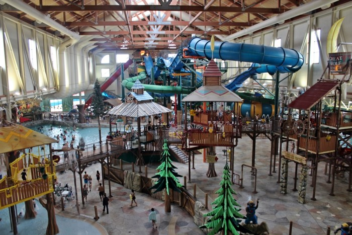 3. Great Wolf Lodge, Concord