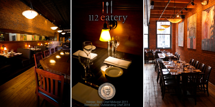 8. 112 Eatery in Minneapolis. Wonderful ambiance and food!
