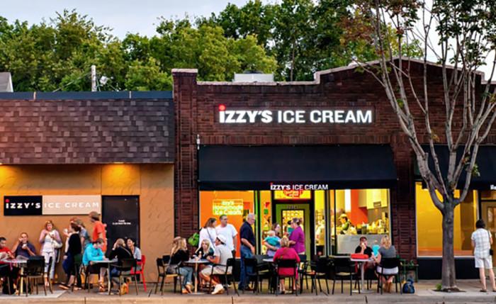 Izzy S Ice Cream Cafe St Paul Mn