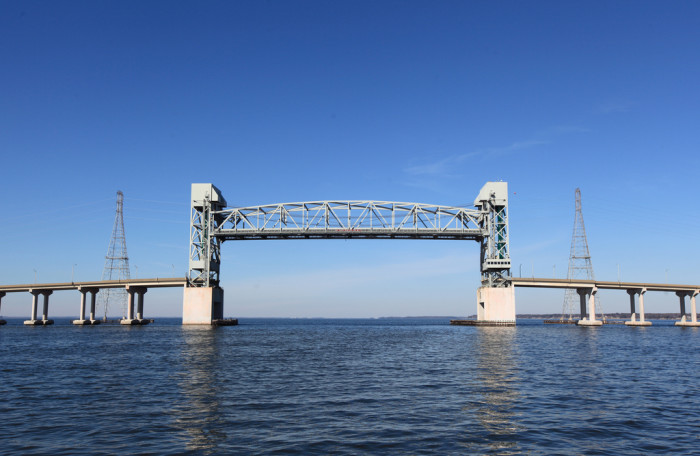 7. The James River Bridge, Newport News