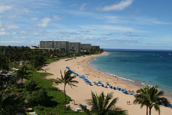 15) Kaanapali Beach, Maui