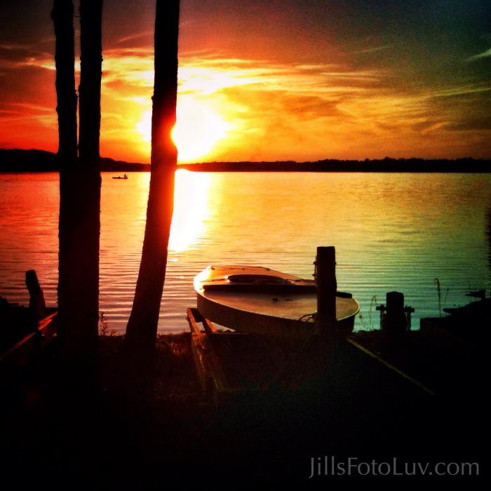 20. Sunset Kayak at Swift Creek Reservoir in Chesterfield