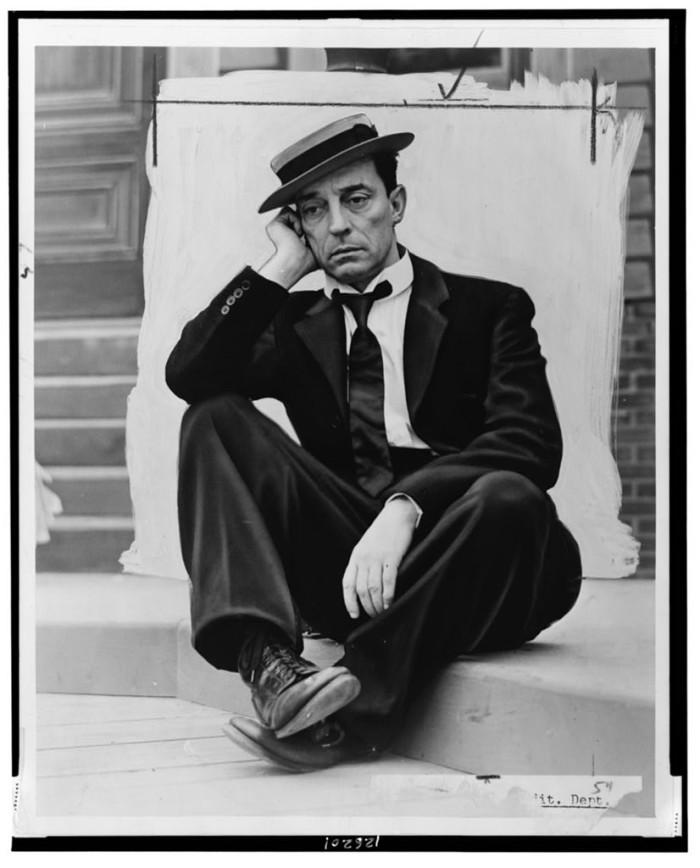 10.) Buster Keaton