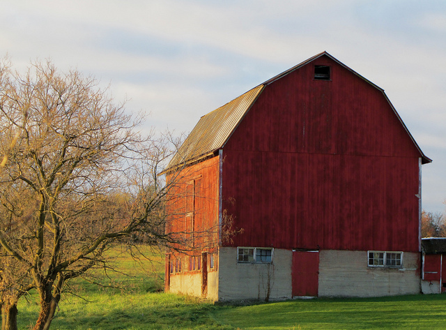 10) Red Barn in Kent County