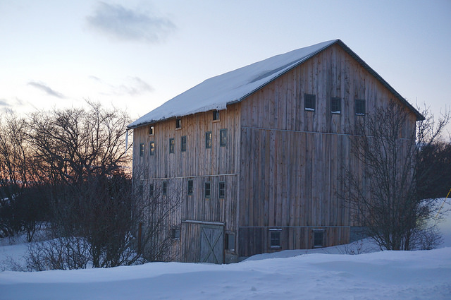 9) Old Barn in either Kent or Ottawa County