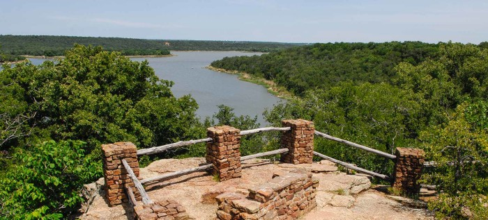 16) Lake Mineral Wells State Park (Mineral Wells)