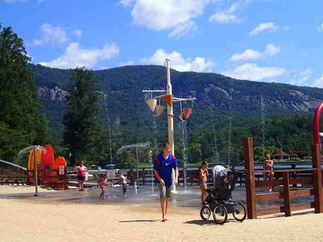 8. Lake Lure Beach and Water Park, Rutherford County
